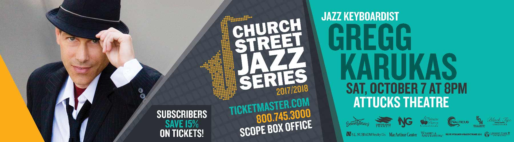 Church Street Jazz Featuring Gregg Karukas