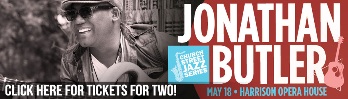 Jonathan Butler Concert Ticket Giveaway - Ends May 18, 2019 at 8PM - Click here for more information.